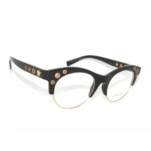 f9484e5774 Versace Accessories - Versace Eyeglasses 3232 Black and Gold Frame